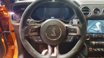 Steering wheel for the 2020 Ford Mustang Cobra
