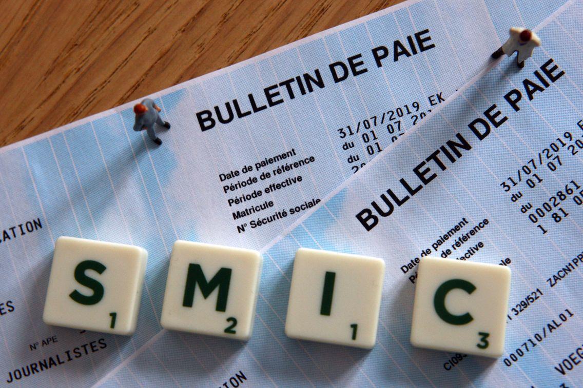 Le Smic passe de 10,25 à 10,48 euros brut