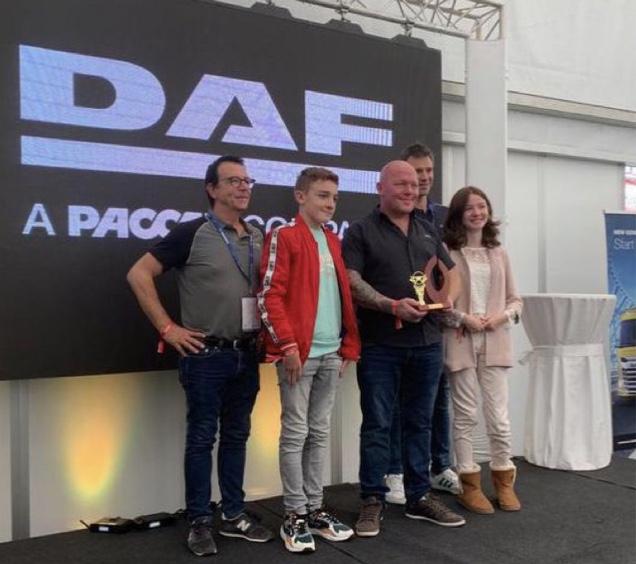 En route pour la finale européenne du DAF Driver challenge