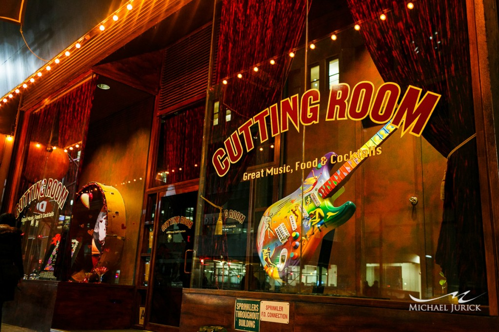 The Cutting Room  NYC  Roadie Recon