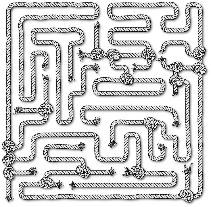 Easy Maze Printable Puzzle For Children Roadislam Com