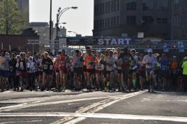 Flower City Half Marathon 2012 Start