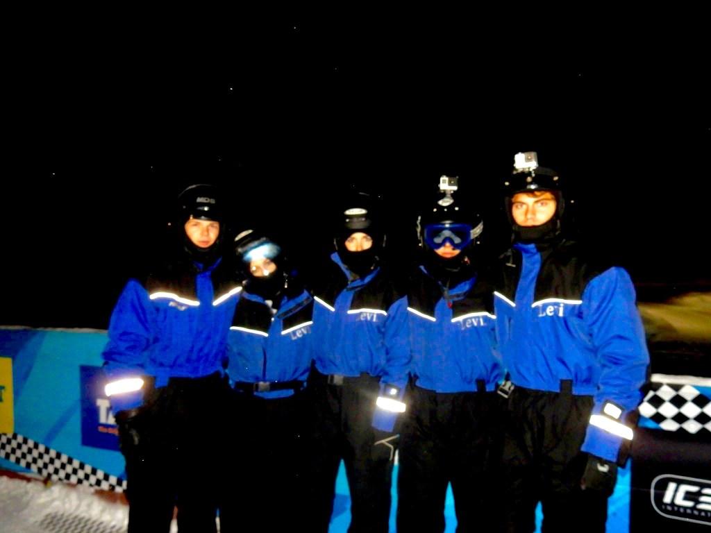 Group Ice Kart Lapland, Finland