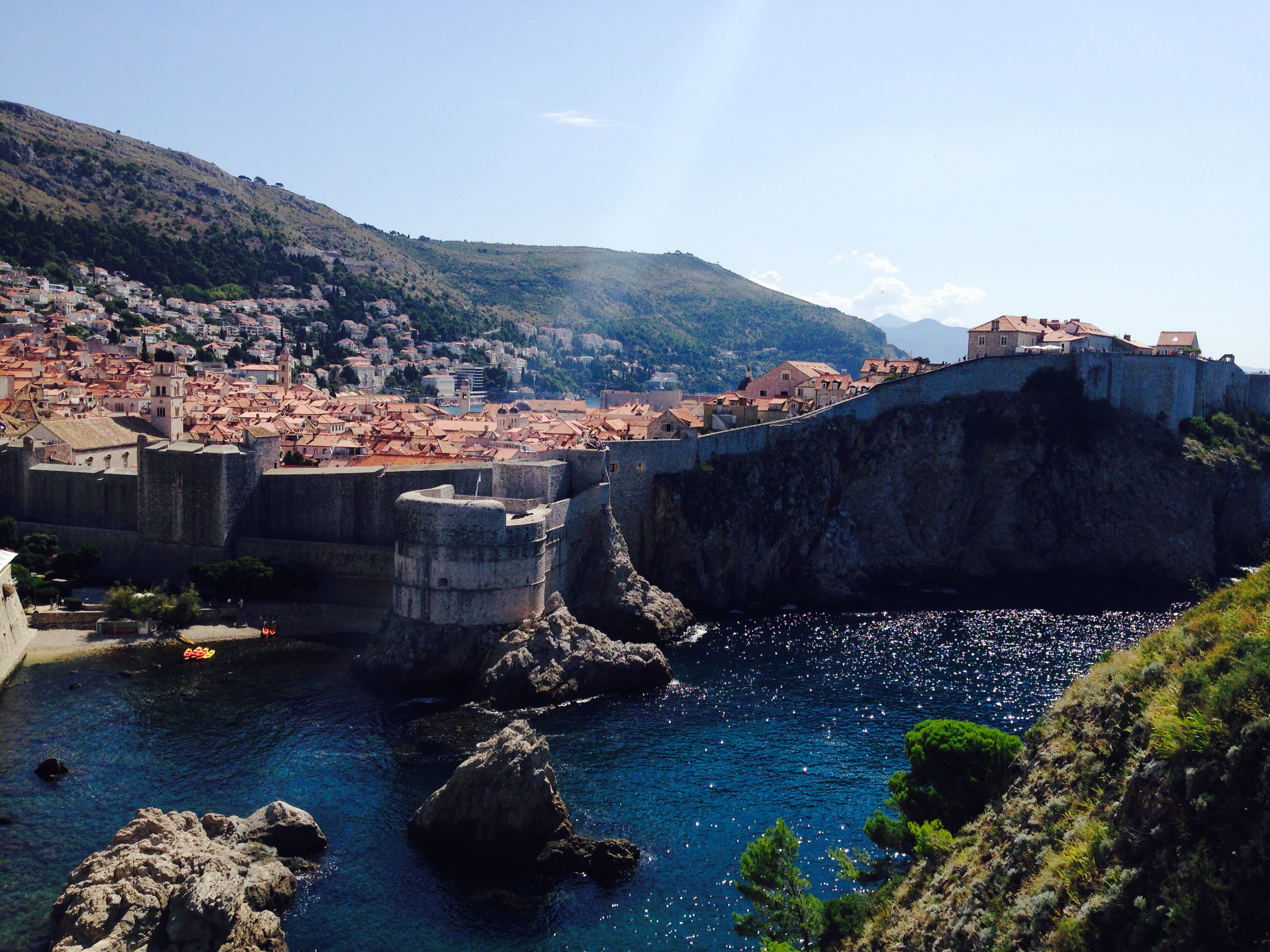 Dubrovnik View from Exterior, Croatia 2014