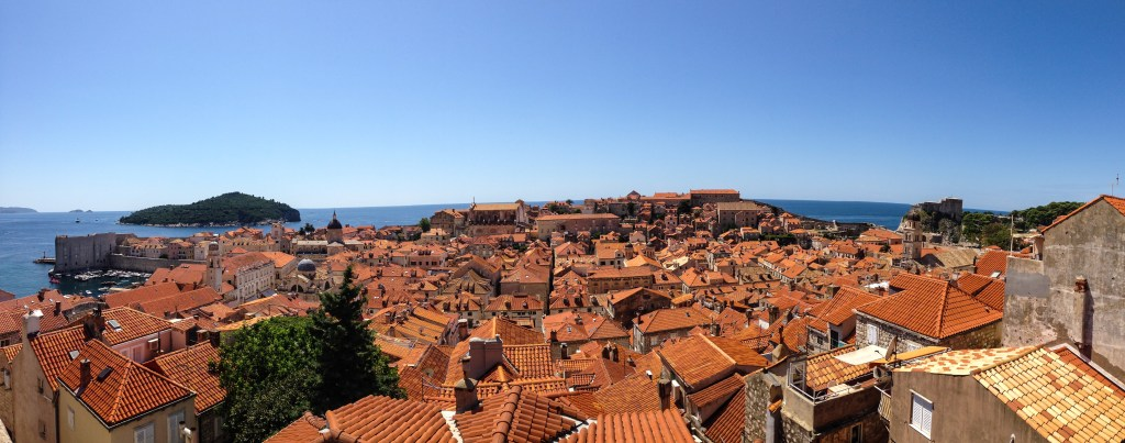 Roofs of Dubrovnik, Croatia 2014