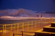 Dee Why Sea Baths in Sydney Storm