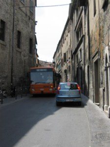 Narrow Perugia Streets