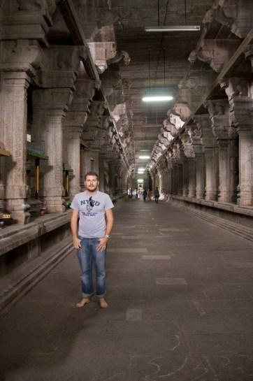 An ancient temple in Kanchipuram, Tamil Nadu, India.