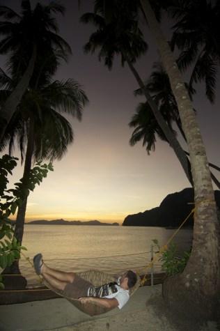Chilling in El Nido, Palawan, Philippines
