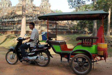 A Cambodian Tuk Tuk