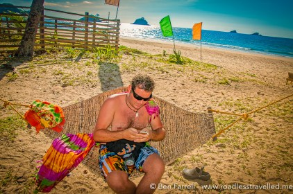 Nacpan Beach on Palawan Island, Philippines