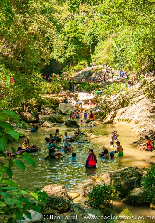Swimming holes in the Dranak River