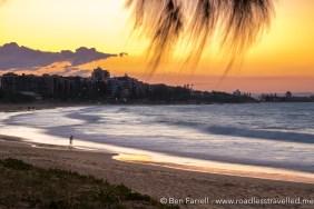 Sunset on Alexandra Headland, Australia