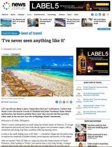 El Nido Philippines article by writer, blogger and photographer Ben Farrell