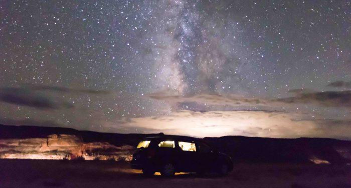 Dormir sous un ciel étoilé