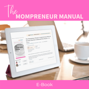 product photo for the mompreneur manual e-book