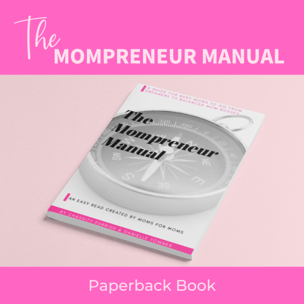 product photo for the mompreneur manual paperback book