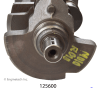 125600 crank shaft
