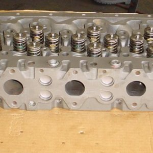 Dodge 5.9L common rail cylinder head