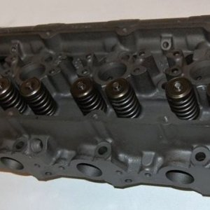 Ford 7.3L powerstroke cylinder head