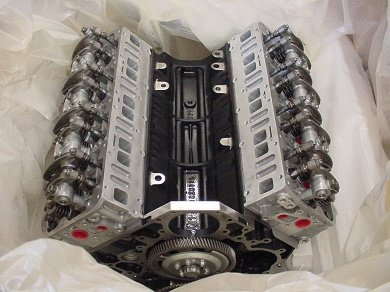 Chevy 6.6l duramax diesel engine