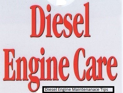 diesel engine care