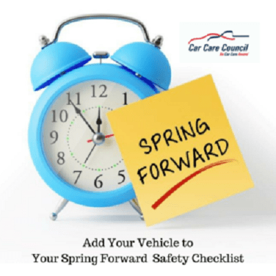 Spring forward car care