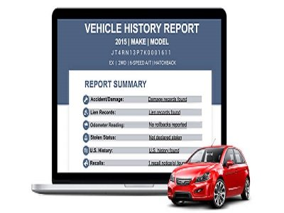 Vehicle history data