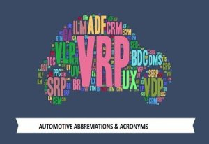 Automotive abbreviations