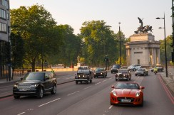 Royal Heritage Drive on Piccadilly