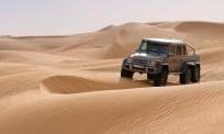 Mercedes=Benz G63 AMG in the Dubai desert.