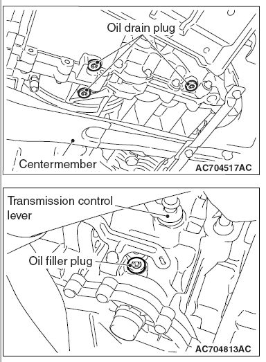 Service manual [Exploded View 1997 Mitsubishi Diamante