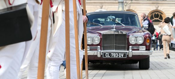 Rolls-Royce Rolls Royce Silver Cloud on Le Vendôme Rally Rallye place vendome for Road Rug Cars RoadRugCars Galiffi Brothers Cars
