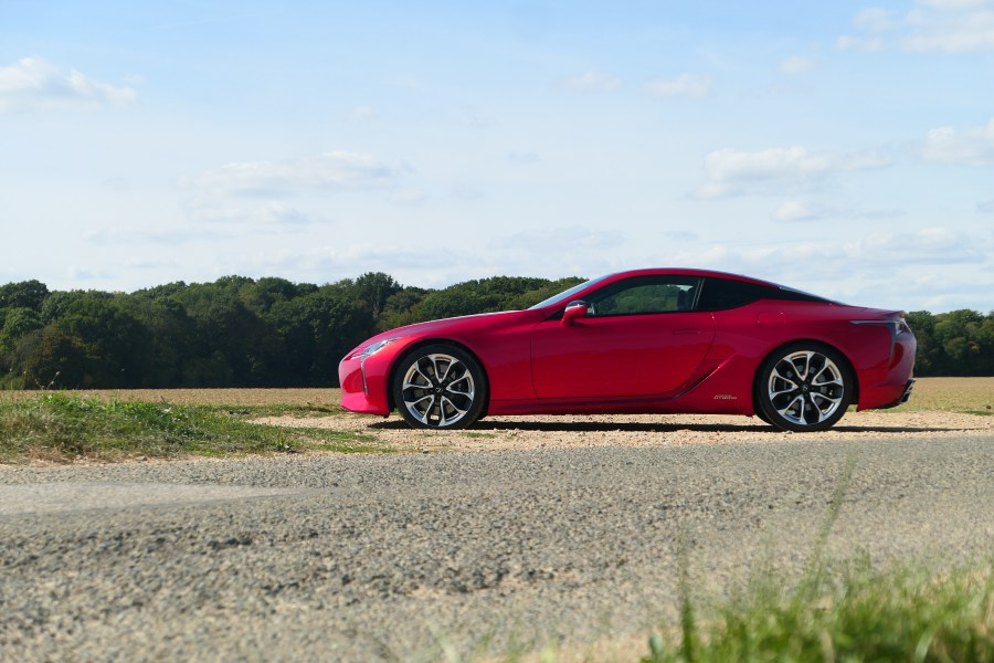 roadrugcars road rug cars lexus LC 500 h LC500h side view