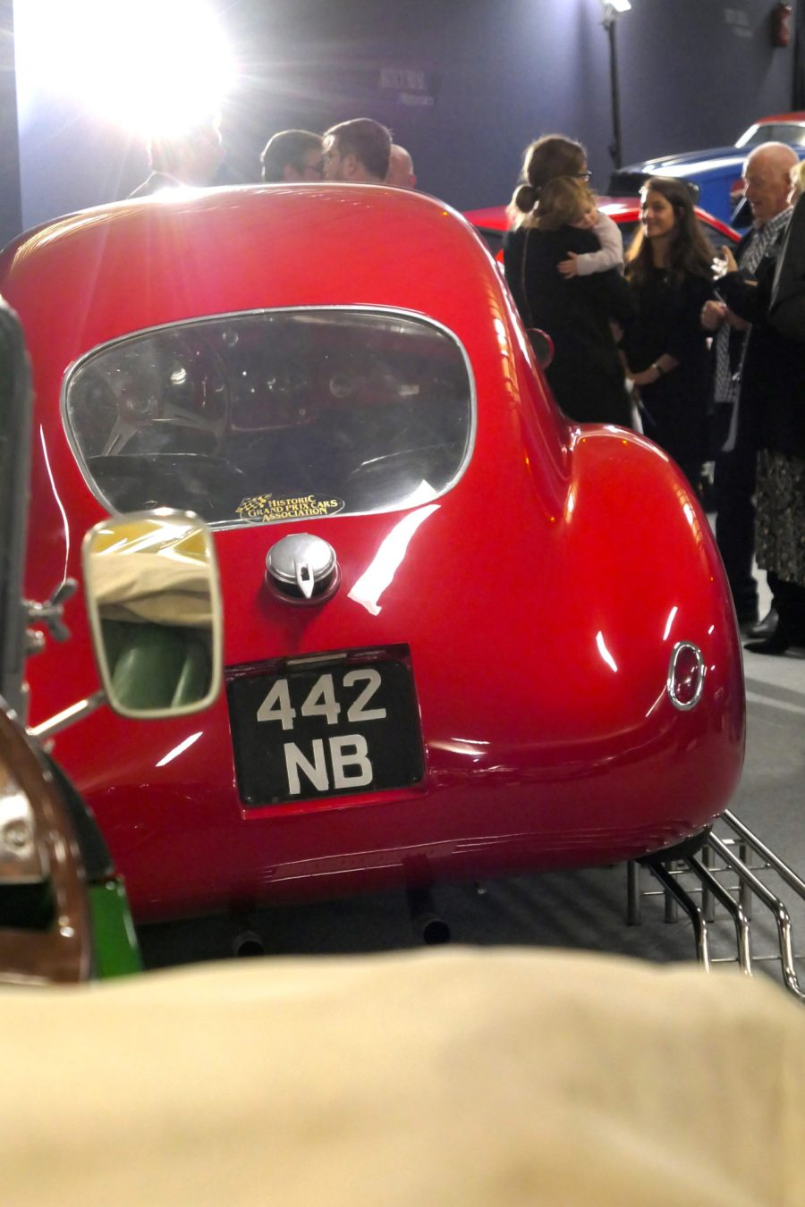 roadrugcars road rug cars artcurial sur les champs fiat 8V back side