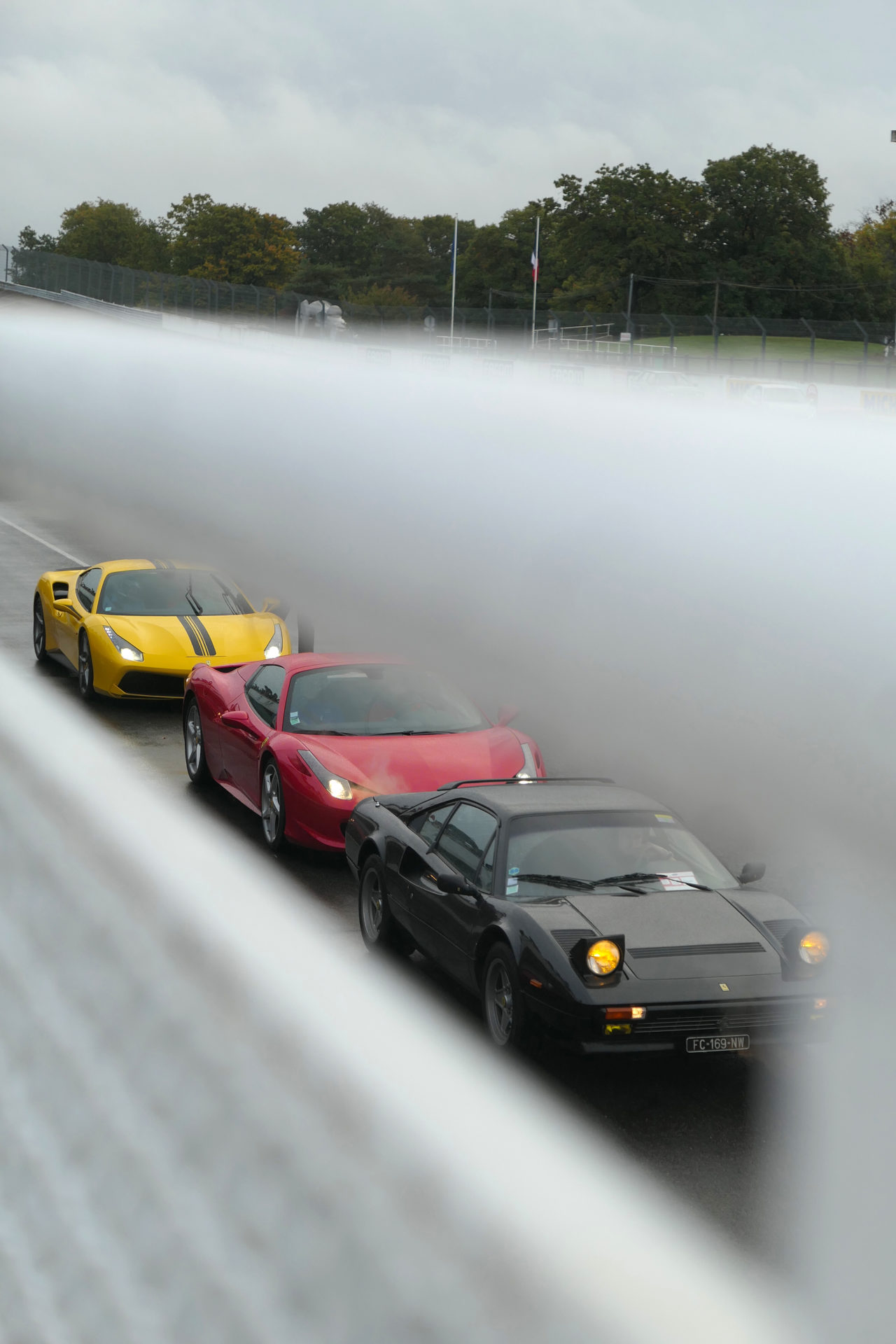roadrugcars road rug cars italian meeting autodrome montlhery ferrari v8 evolution