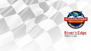 Roadrunner Express | River's Edge Wash n Lube | coupon background