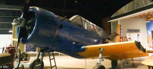 Tuskegee Trainer, Museum of Aviation, Warner Robins, GA