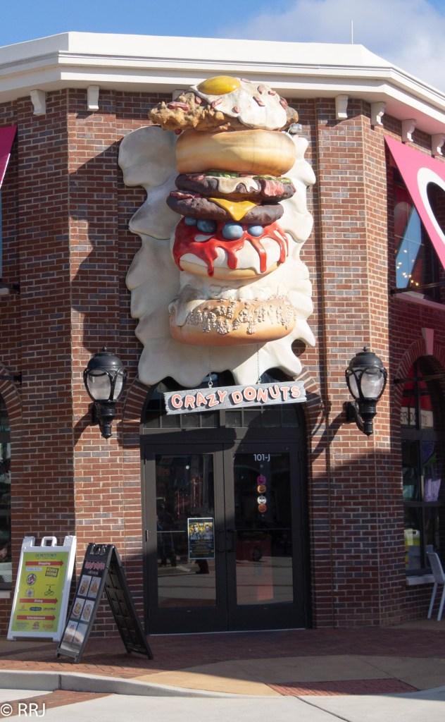Crazy Doughnut at Downtown OWA