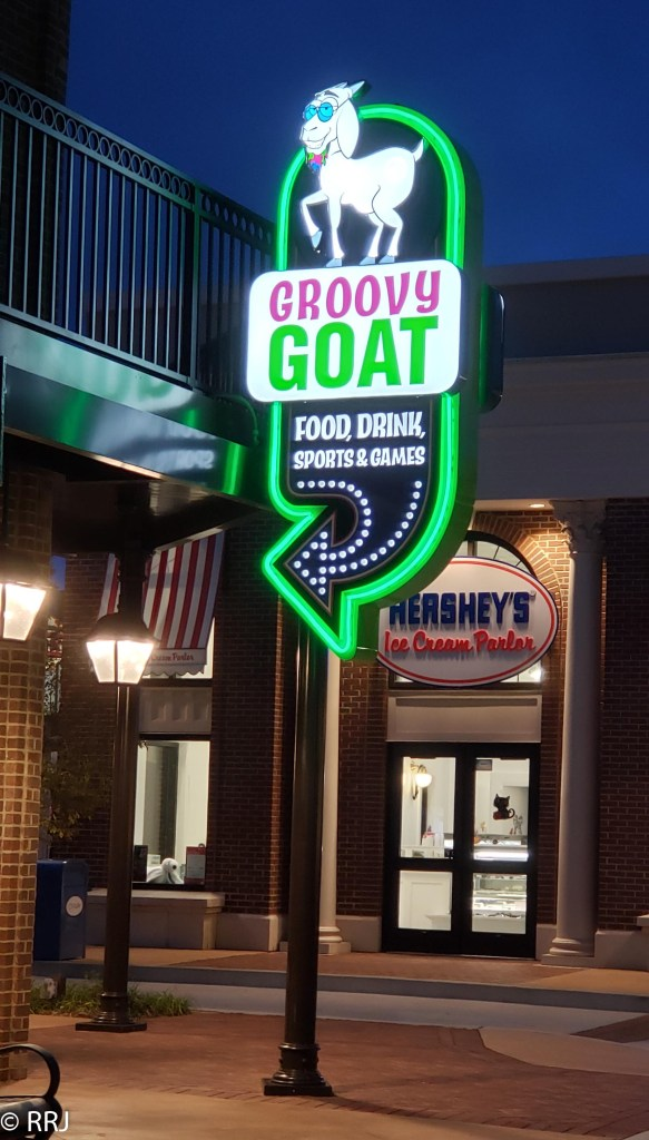 Groovy Goat at Downtown OWA