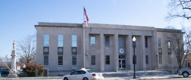 Franklin County Courthouse, Russellviile, Alabama