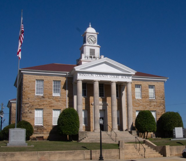 Winston County Courthouse, Double Springs, Alabama