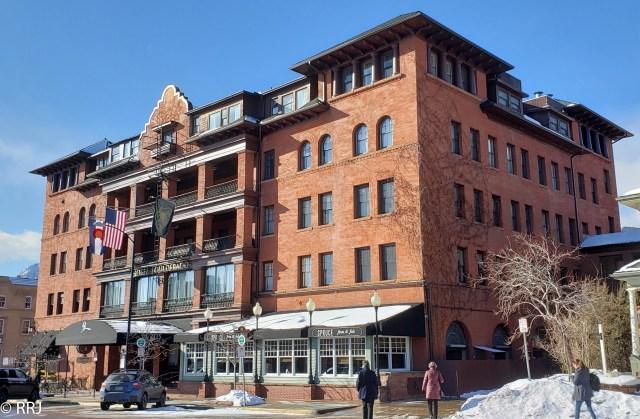 Hotel Boulderado, Boulder CO