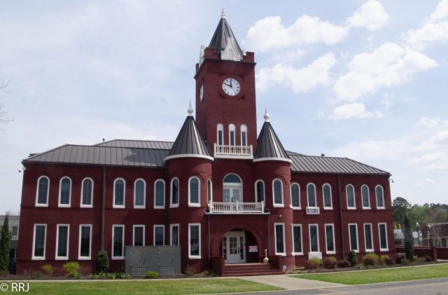 Coffee county courthouse, Elba, Alabama