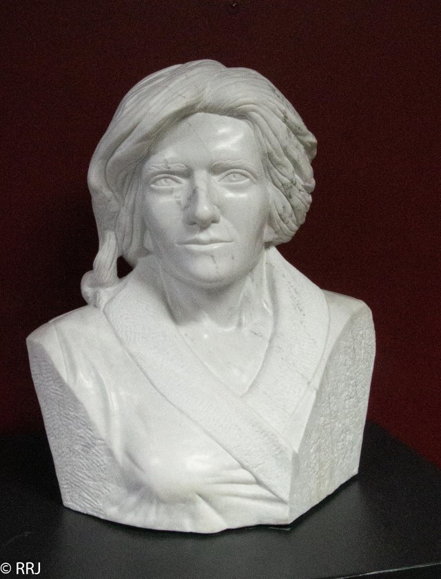 bust of Geneva Mercer by Frank Murphy