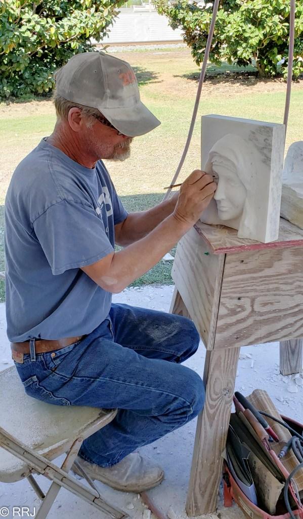 Craigger Browne at Magic of Marble Festival Sylacauga Alabama