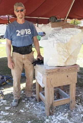 Glenn Dasher at Magic of Marble Festival Sylacauga Alabama