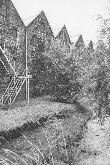 The warehouses of Glen Grant