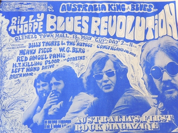 Blues Revolution Glenelg Town Hall