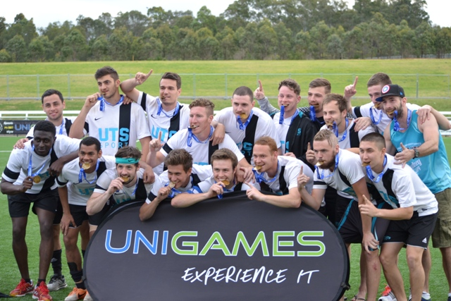 UTS on the podium with gold medals